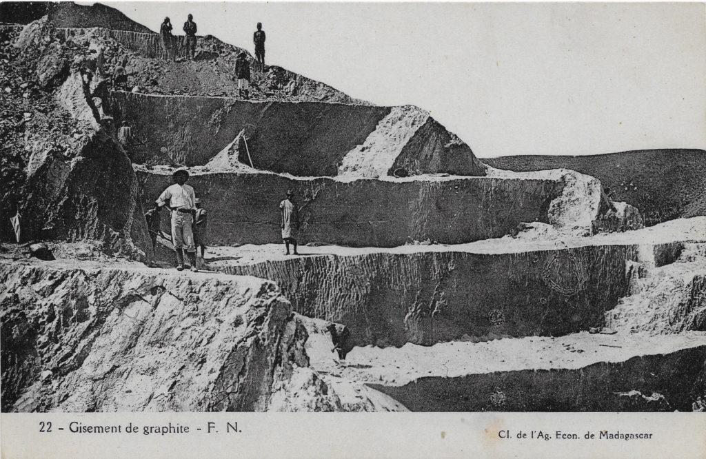 Gisement de graphite-Madagascar-1940