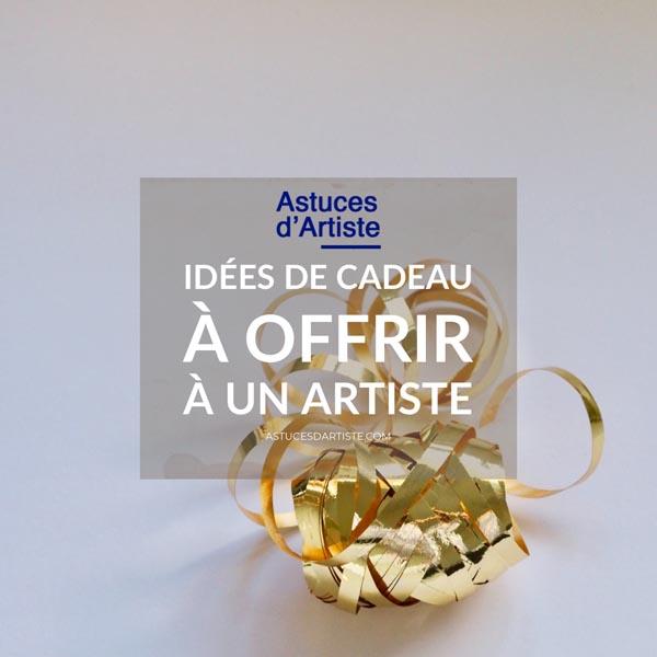 Idées de cadeau à offrir à un artiste