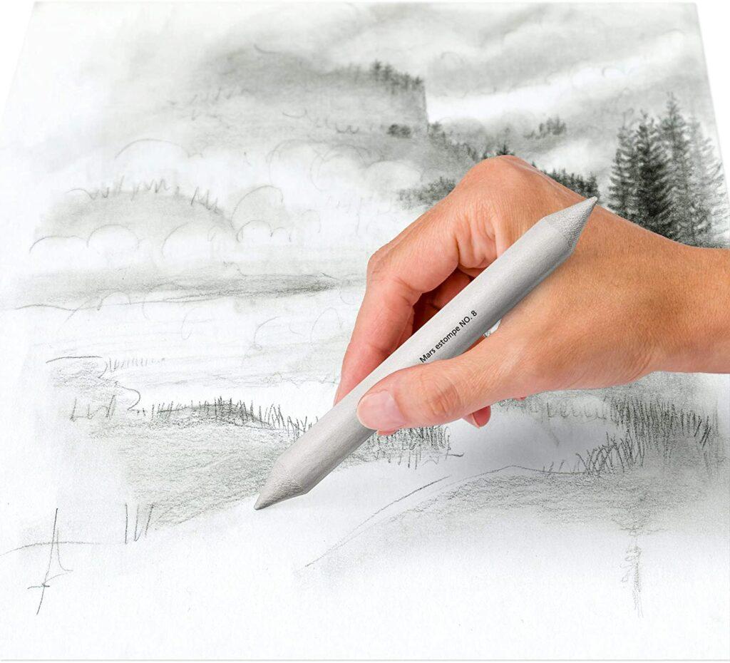 estompe classique pour le dessin