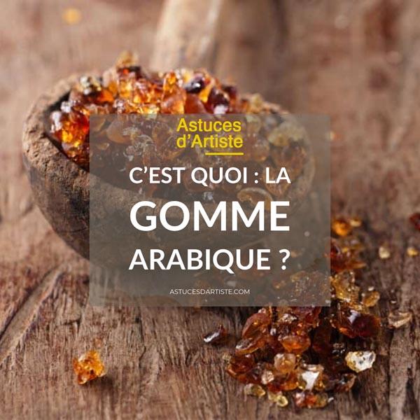 You are currently viewing La Gomme Arabique en peinture: à quoi ça sert ?
