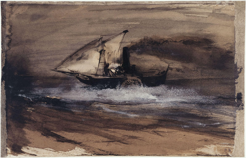 Lavis de Victor Hugo
