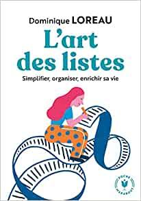 L'art des Listes - Dominique Loreau - meilleurs livres