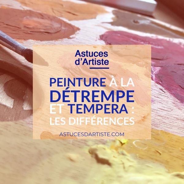 Read more about the article Peinture à la détrempe et tempera : les différences